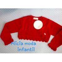 Rebeca infantil niña roja 2202 DOLCE PETIT