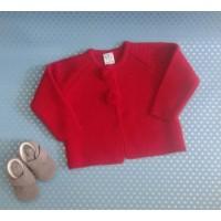 chaqueta pompones roja SARDON 720