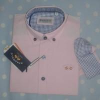 camisa niño oxford SPAGNOLO rosa claro