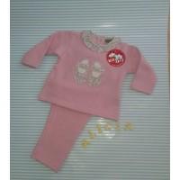 Chándal niña KIZ zapatitos  rosas CHCT12