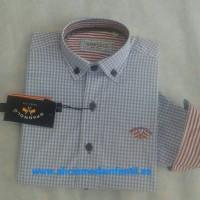 camisa popelin SPAGNOLO vichy celeste